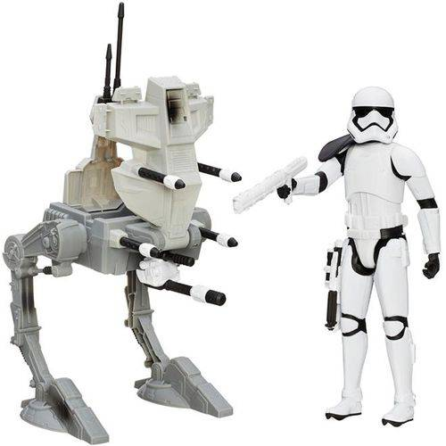 Veículo e Boneco Star Wars VII B3917 - Hasbro Assault Walker