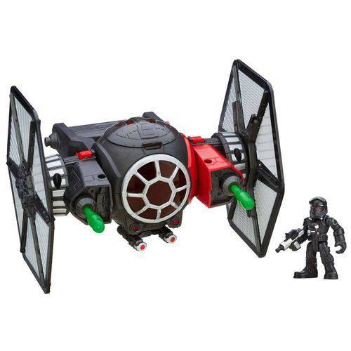 Veículo e Figura Playskool - Disney Star Wars - Tie Fighter e Piloto - Hasbro