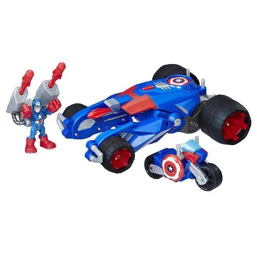 Veículo Sha Tanque do Capitão América - Hasbro