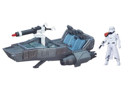 Veículo Star Wars Class II First Order Snowspeeder + First Order Snowtrooper - Hasbro B3673/B3672