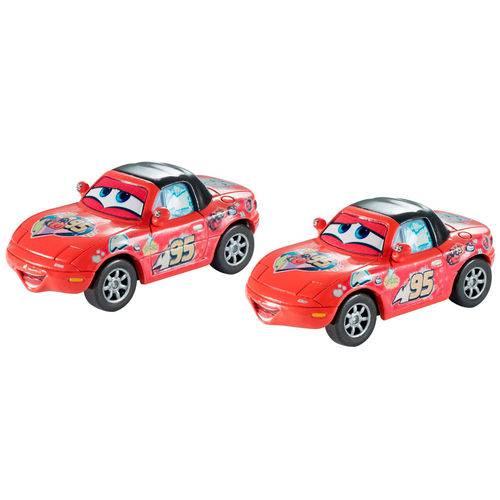 Veículos Hot Wheels - Disney Cars 2 - Pack com 2 Veículos - Mia e Tia - Mattel