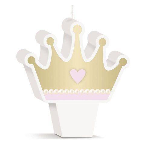 Vela de Aniversário Princesa Vintage Cromus