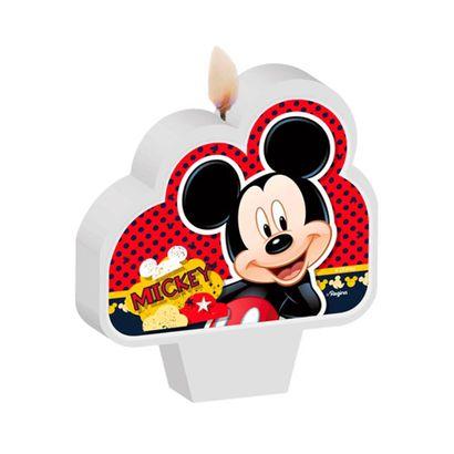Vela Mickey Mouse Pavio Mágico Disney Regina