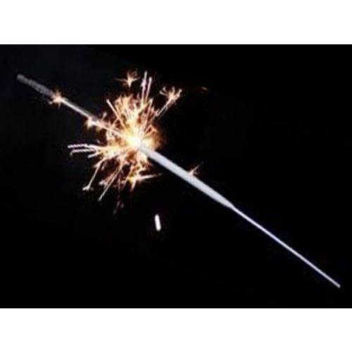 Vela para Casamento Faísca Sparkles 45 Cm 5 Un - Extra Festa