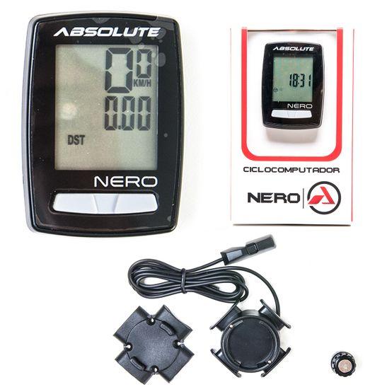 Velocímetro Digital 10 Funções Absolute Nero Bike
