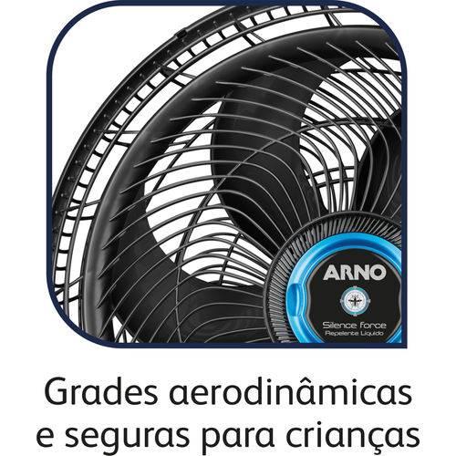 Ventilador Arno Silence Force Repelente Líquido