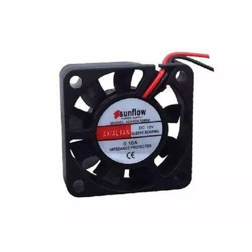 Ventilador Cooler Ventoinha Fan 40x40x10 12v com 10 Peças