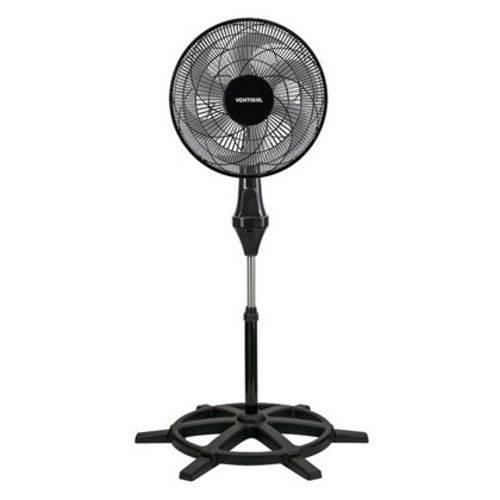 Ventilador de Coluna 50cm Turbo Preto 110v 6 Pás Oferta