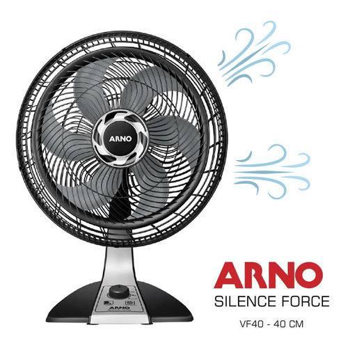 Ventilador de Mesa Arno Silence Force 3 Velocidades - 40cm 127v