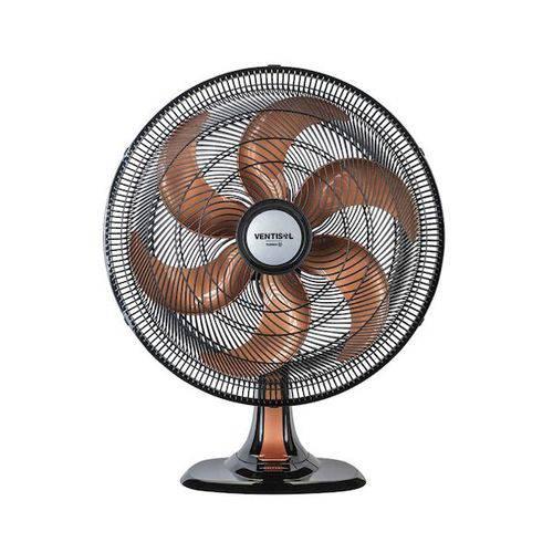 Ventilador de Mesa Ventisol 50 Turbo Preto C/ Bronze 127 V