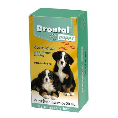 Vermífugo Bayer Drontal Puppy para Cães Filhotes - 20ml 20ml