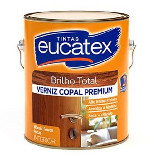 Verniz Copal Incolor Eucatex 900 Ml