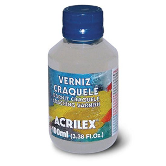 Verniz Craquelê 100ml - Acrilex Verniz Craquelê 100ml Acrilex