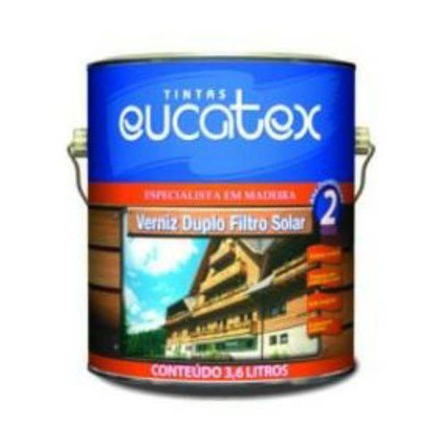 Verniz Duplo Fs Brilhante Galão 3,6 Litros Eucatex
