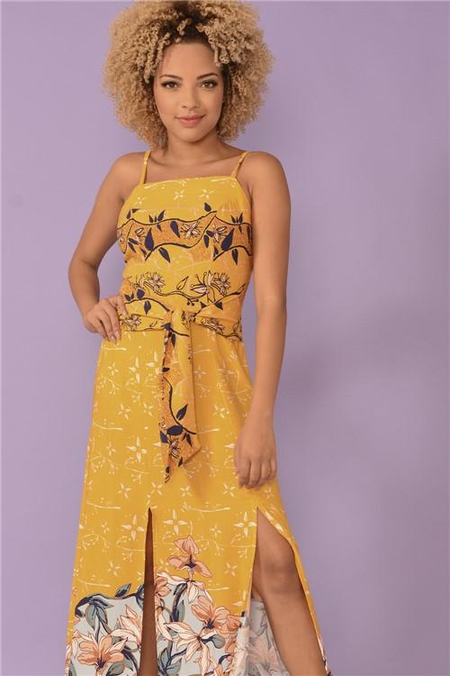 Vestido Amarelo Katy - Est Amarelo Katy Tamanho: M