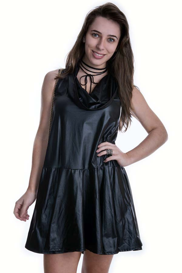 Vestido Amplo de Cirre 020229 - P