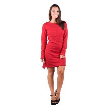 Vestido Banna Hanna Bordado Vermelho M