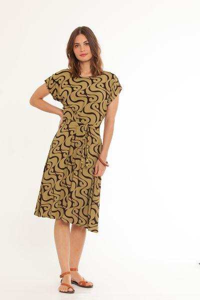 Vestido Beta Real Verde Oliva 2