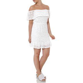 Vestido Ciganinha Feminino Autentique Off White M