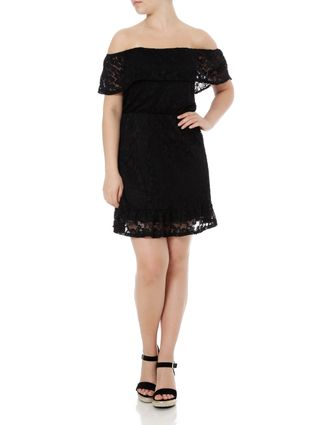 Vestido Ciganinha Feminino Autentique Preto