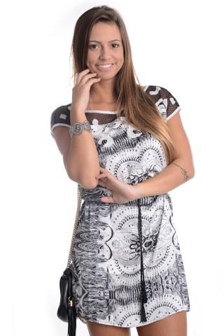 Vestido com Renda VE0705 - G