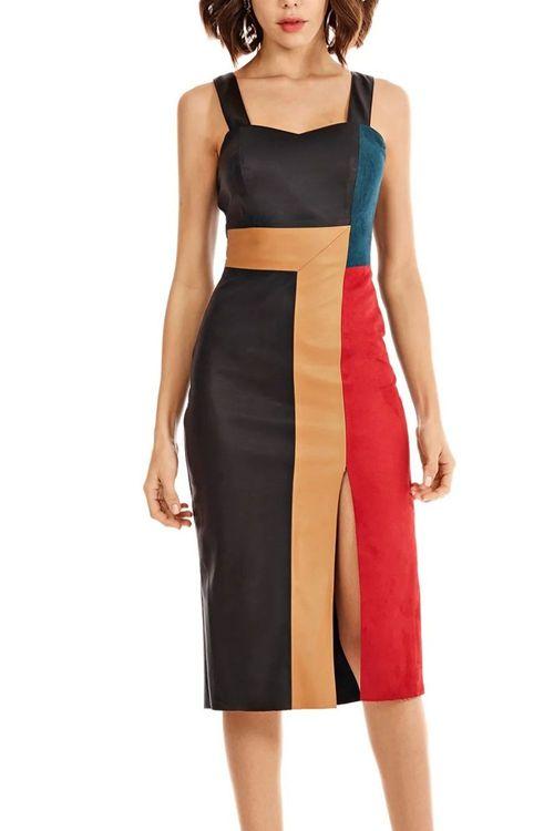Vestido Curto Decote Quadrado Morena Rosa - M