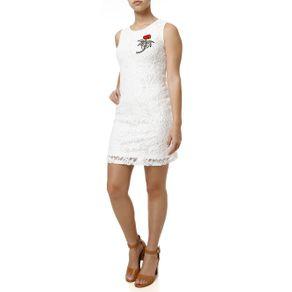Vestido Curto Feminino Autentique Chemisiê Cinza Vestido Curto Feminino Off White M