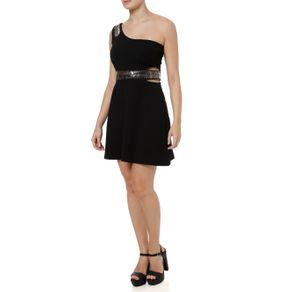 Vestido Curto Feminino Autentique Preto P