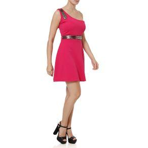 Vestido Curto Feminino Autentique Rosa G