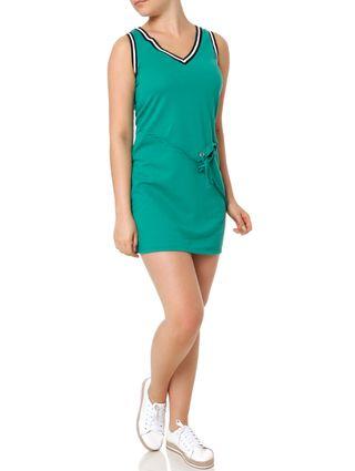 Vestido Curto Feminino Autentique Verde