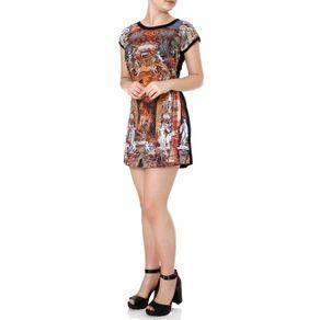 Vestido Curto Feminino Preto M