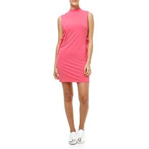 Vestido Curto Feminino Rosa Blusa Regata Feminina Rosa P