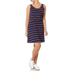 Vestido Curto Feminino Rovitex Azul Marinho M