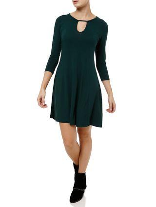 Vestido Curto Feminino Verde