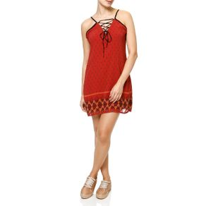 Vestido Curto Feminino Vermelho P