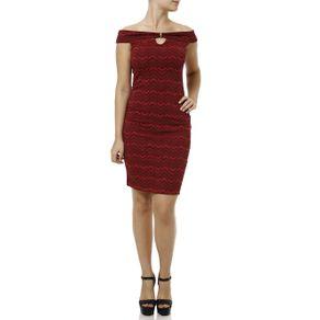 Vestido Curto Feminino Vermelho PP