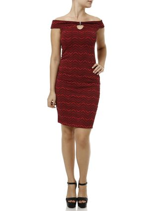 Vestido Curto Feminino Vermelho