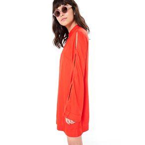 Vestido Curto Golinha Vermelho Caiena - P