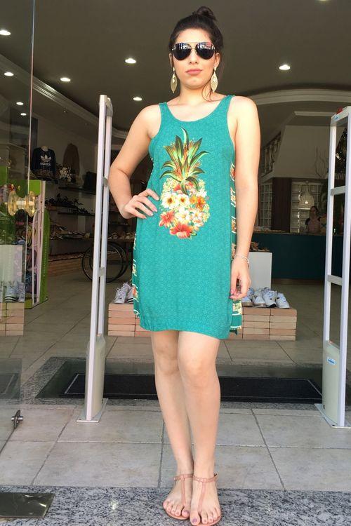 Vestido Curto Salada de Flor Farm - P