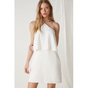 Vestido de Listra Paete Off White - 38