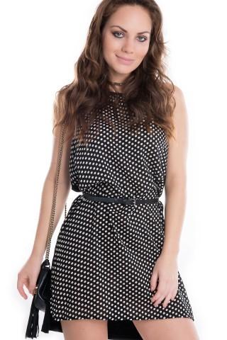 Vestido de Poá VE1259 - P