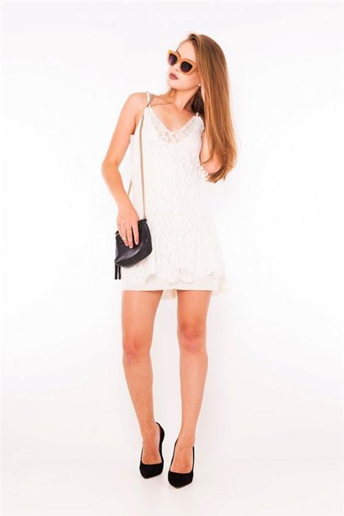 Vestido de Renda com Forro VE1782 - Kam Bess