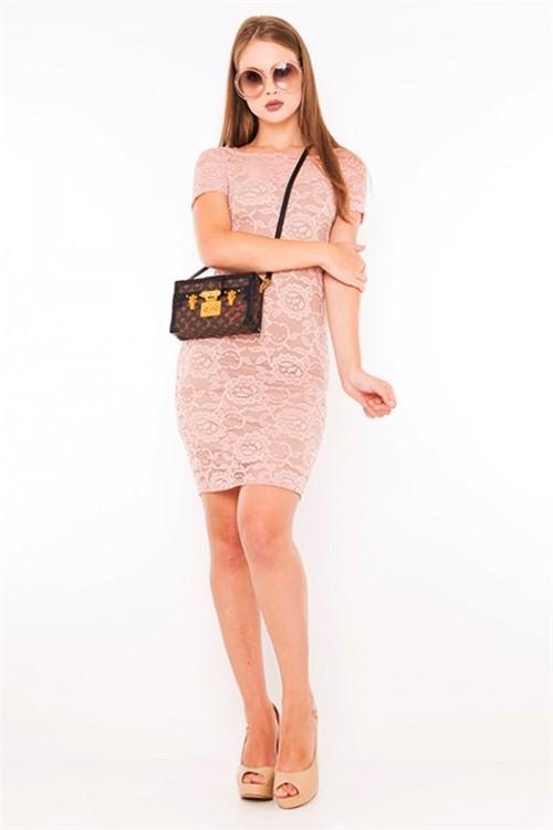 Vestido de Renda Sem Forro VE1765 - Kam Bess