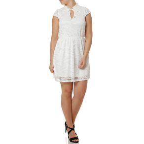Vestido Feminino Autentique Branco GG