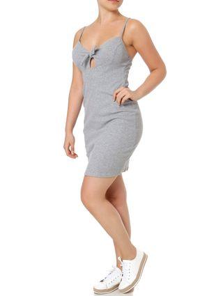Vestido Feminino Autentique Cinza