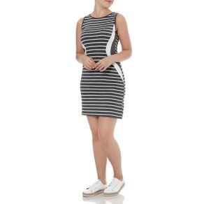 Vestido Feminino Lunender Cinza G