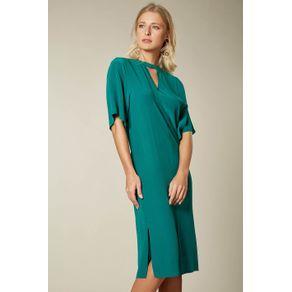 Vestido Golinha Boreal Verde Boreal - 38