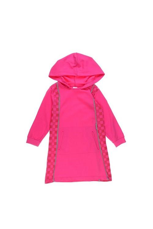 Vestido Infantil Bandeira 02 - Rosa Pink