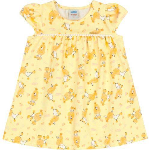 Vestido Infantil Marlan Poodle Menina