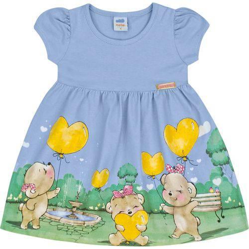 Vestido Infantil Marlan Ursinhos Menina
